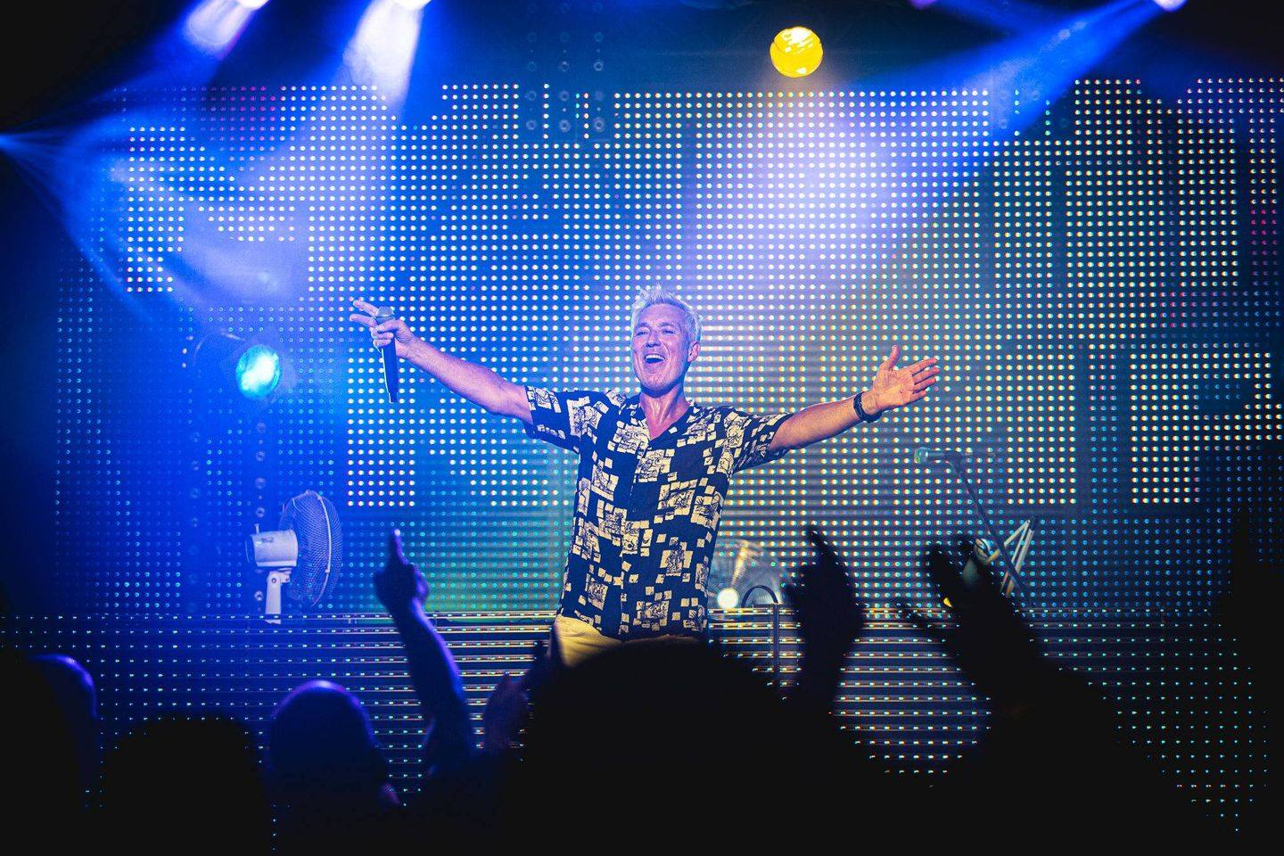 Martin Kemp's Back To The 80s Party At Colchester Charter Hall