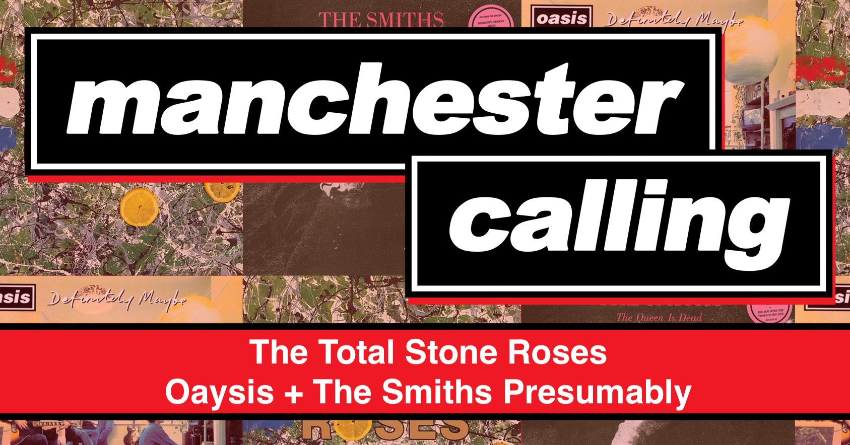 Manchester Calling! – Live In Colchester