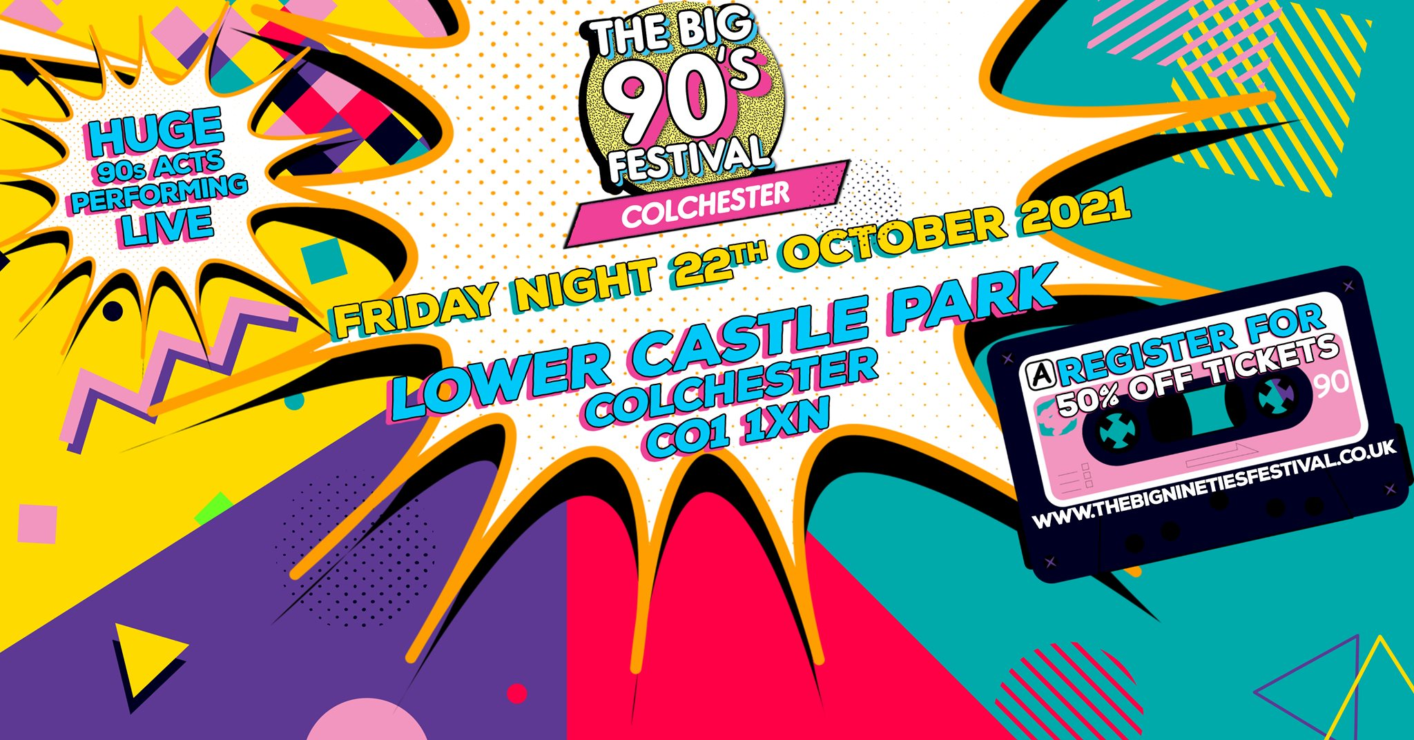 The Big Nineties Festival – Colchester 2021
