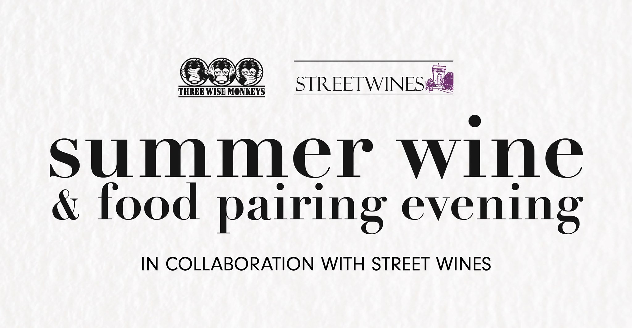 Summer Wine And Food Pairing Evening